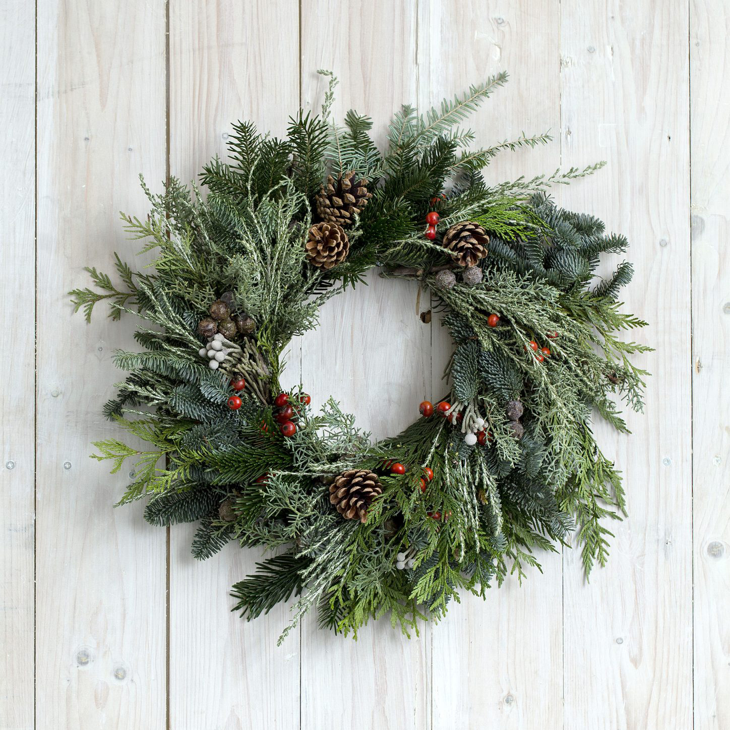 Christmas Wreath Making Workshop | Pins Petals Powder ...